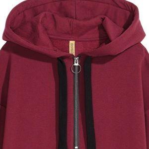 H&M Tops - H&M oversized hooded sweatshirt top
